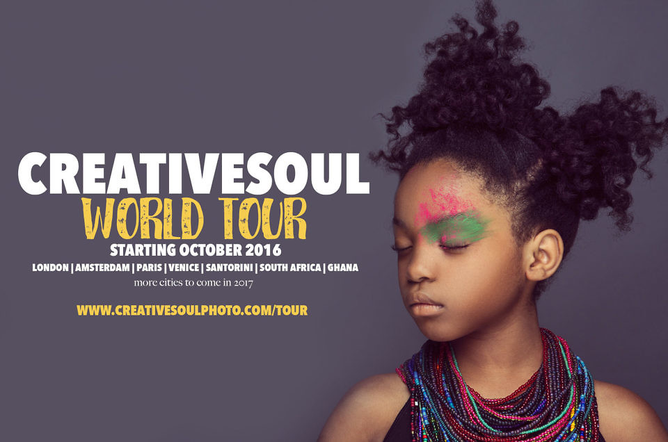 CreativeSoul World Tour Announcement