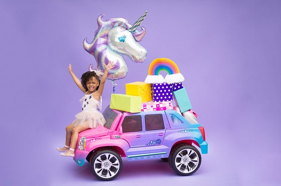 A Unicorn Themed Birthday Shoot