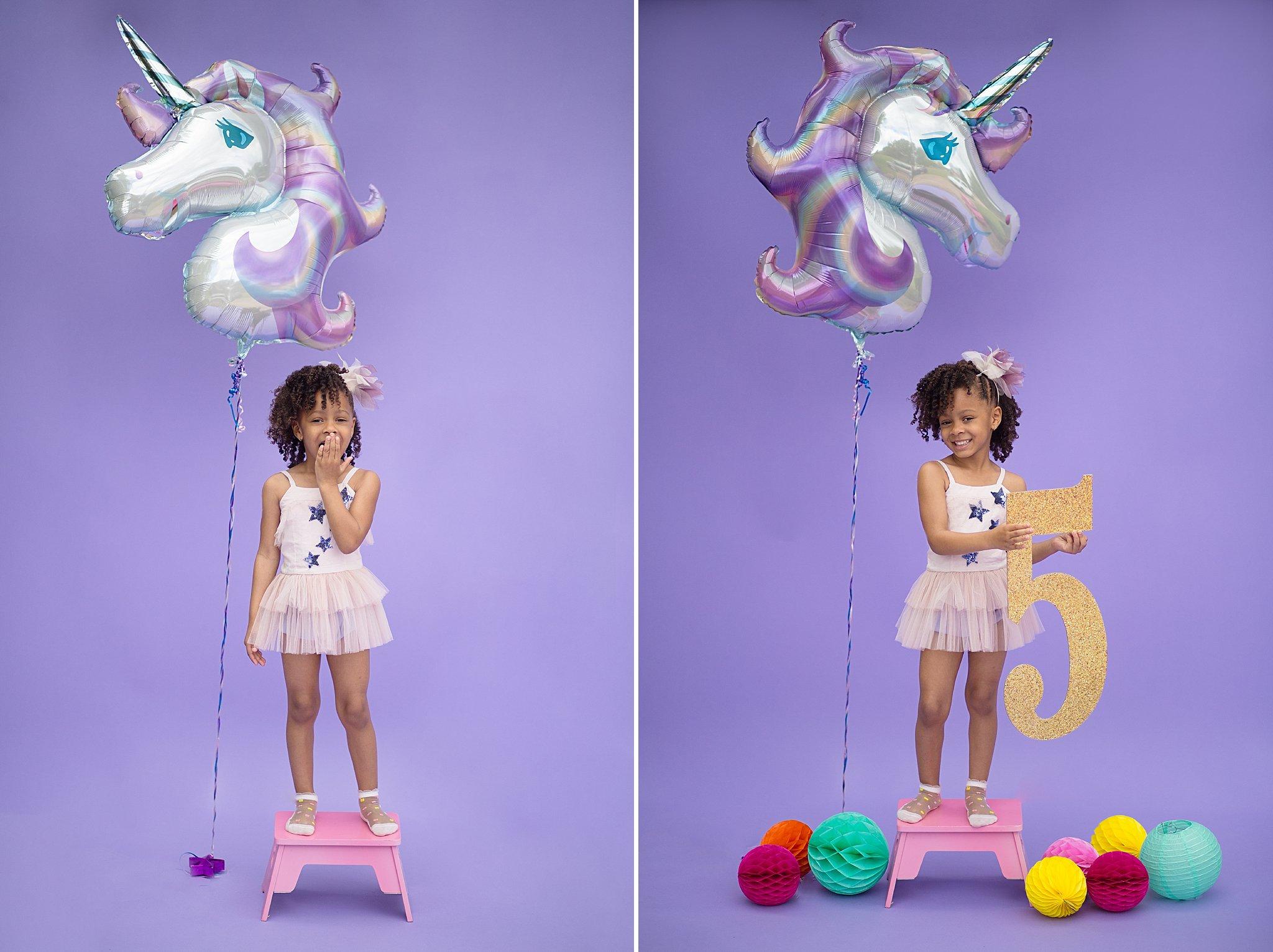 A Unicorn Themed Birthday Shoot