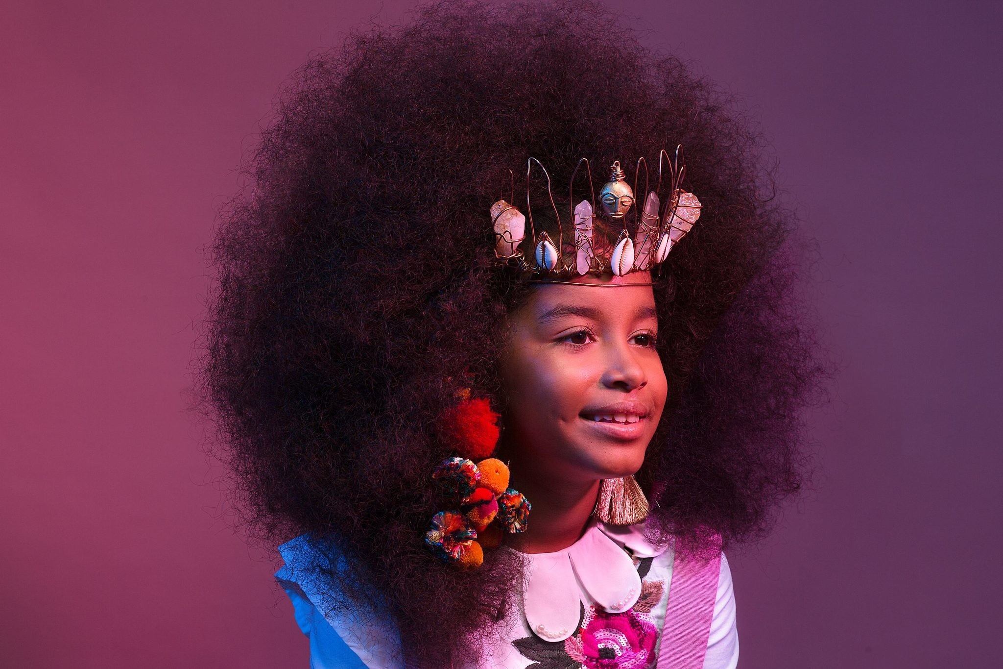 AfroArt Photo Series Celebrates The Beauty Of Natural Afro ...  |Afro Hair Art